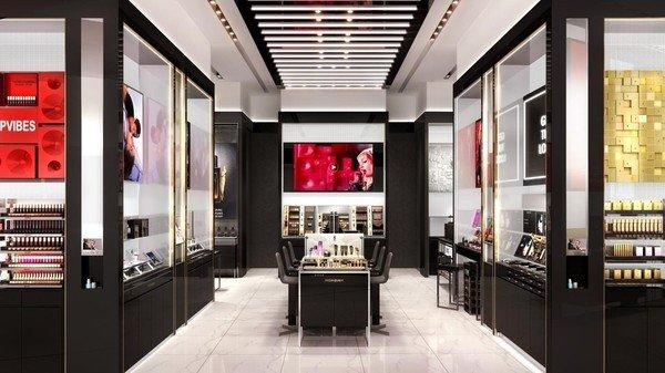 YSL Beauty Taipei 101全球最大旗艦店11月30日盛大開幕 店內圖.jpg