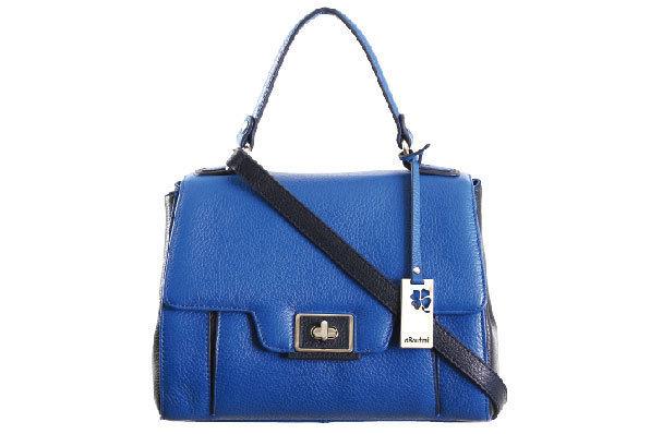 圖10_aBoutmi 蔚藍復古鎖扣雙色肩背手拿兩用包  建議售價NT10,000.jpg