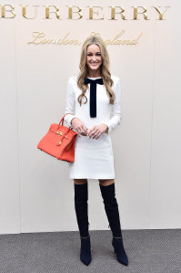 Storm Keating at the Burberry Womenswear February 2016 Show.jpg