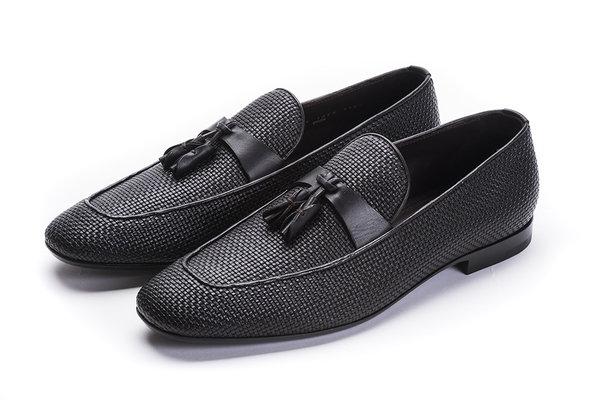 6. Pelle Tessuta 系列小羊皮咖啡色皮鞋 NTD_34,700.jpg