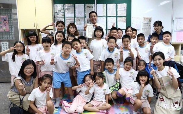 微笑企業花王集團自2011年起齊力投入兒童清潔安全教育,並號召員工教導小學生正確的清潔教育觀念,共同開創微笑心生活。.JPG