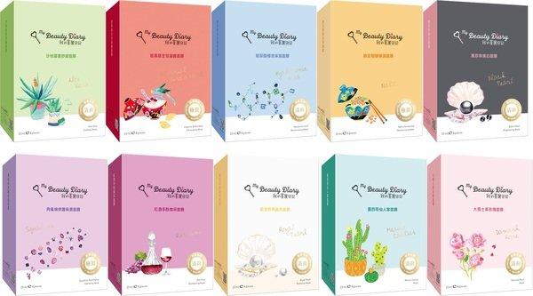 我的美麗日記自然鑰匙系列,共10款,每盒8片售價$250.jpg