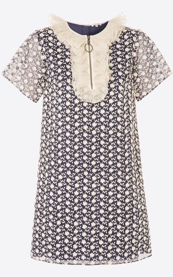 單件式蕾絲印花洋裝s 售價21800.jpg