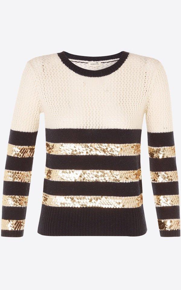 亮片條紋針織上衣s 售價14800.jpg