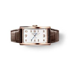 Tiffany East West 18K玫瑰金白色錶盤自動上鍊機芯腕錶 NT$ 412,000.jpg