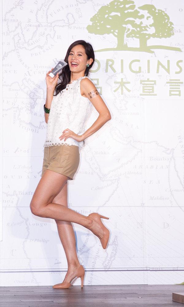 ORIGINS品木宣言二十五週年暨No 1泥狀面膜熱銷記者會_出席嘉賓 Janet.jpg
