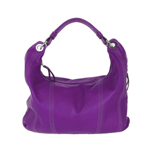 圖3_aBoutmi 豔紫色簡約垂墜肩背包,建議售價NT6,380.jpg