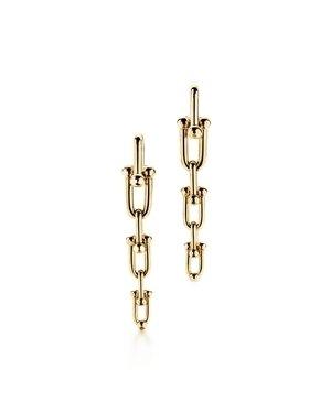 Tiffany HardWear鏈結設計垂墜式18K金耳環  NT$191,000.jpg