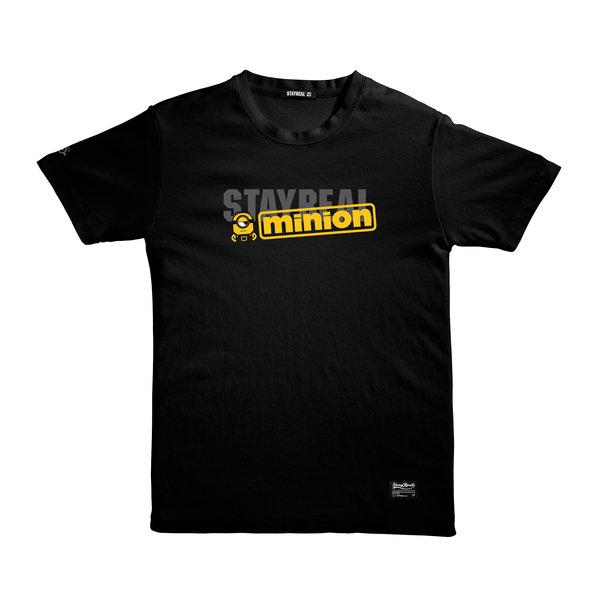 STAYREAL X Minions吾黃萬歲_黑正面 $1280.jpg