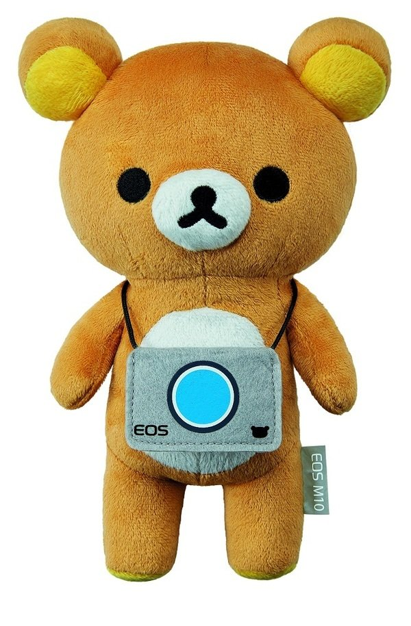 圖三 7月份於在全通路購買EOS M10單鏡組,即可獲得24cm特別版拉拉熊玩偶一隻與EOS M10原廠電池乙個;凡購買 EOS M10 雙鏡組,即可獲得24cm拉拉熊玩偶一隻、EOS M10原廠電池乙顆、Manfrotto PiXi迷你腳架乙支,限量800組,機會難得不要錯過!.jpg