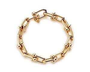 Tiffany HardWear 鏈結設計18K金手鍊  NT$229,000.jpg