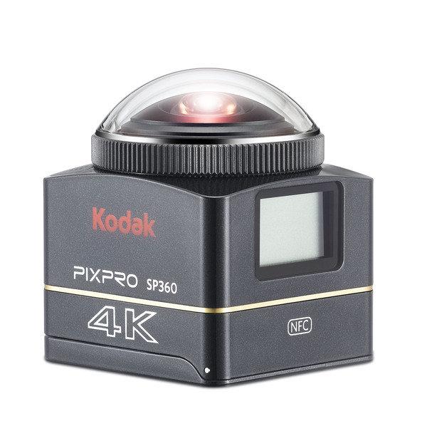 新聞圖說1:Kodak PIXPRO SP360 4K全景VR攝影機 震撼登場.jpg