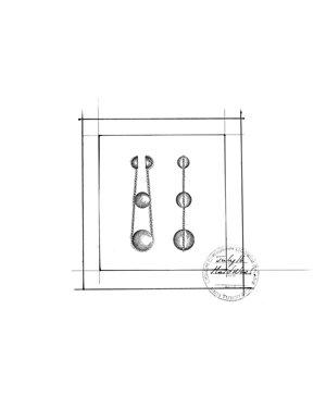 Tiffany HardWear 三層垂墜式球形耳環 手繪稿.jpg
