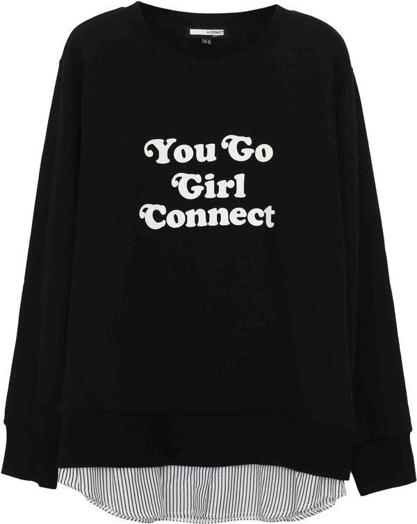 connect標語拼接上衣 NT$1580.jpg