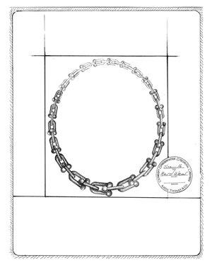 Tiffany HardWear鏈結設計項鍊 手繪稿.jpg