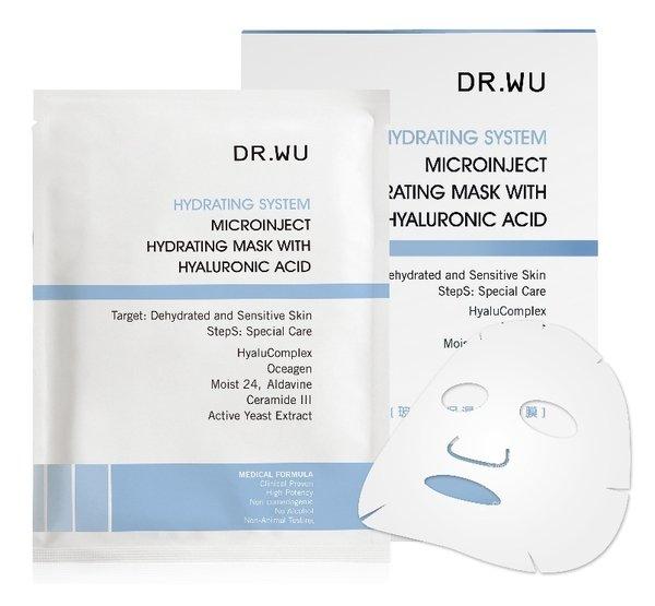 [陸客最愛] DR.WU玻尿酸保濕微導面膜 3pcs,第二件特價$294.jpg