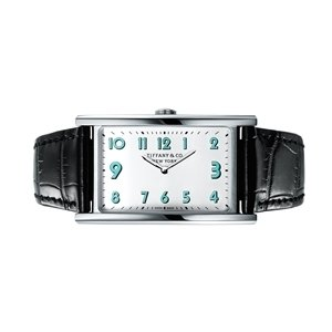 Tiffany East West 白色錶盤Tiffany Blue夜光塗層指針中型腕錶 NT$129,000.jpg