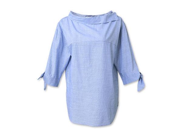 H CONNECT  海洋風船領七分袖襯衫 NT$1280.jpg