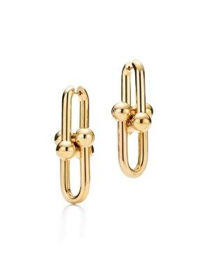 Tiffany HardWear鏈結設計18K金耳環  NT$153,000.jpg