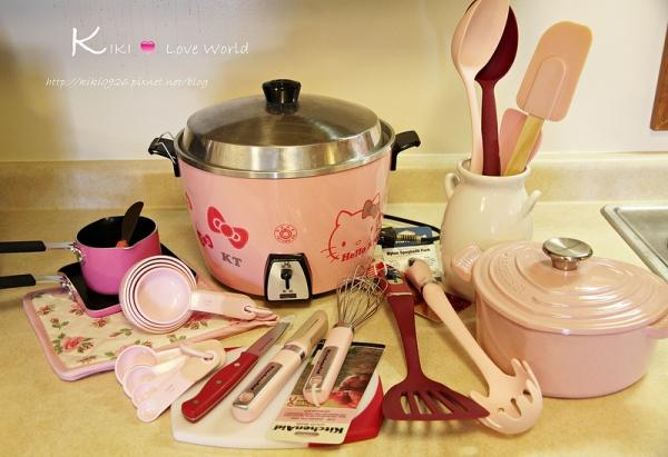 【分享】I Love Pink!我的粉紅廚房小物