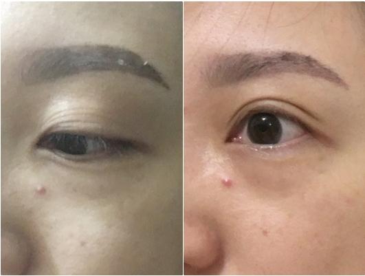 韓式微妝霧眉 初體驗