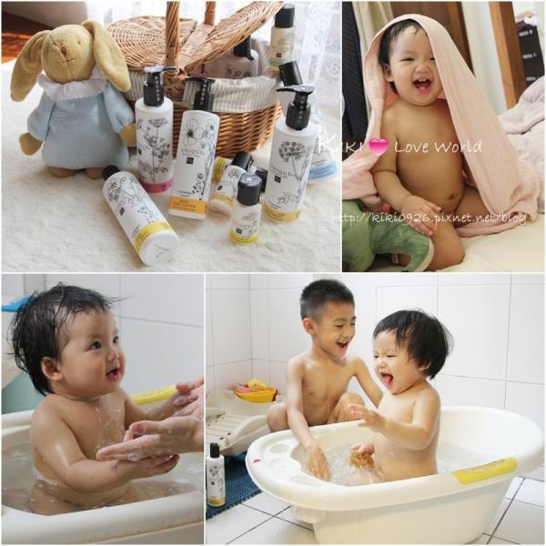 【獨家首團】丹麥有機品牌UNIQUE ♥ 讓肌膚一起喝牛奶(Baby/大人都適用)