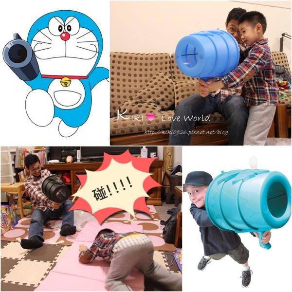 【團購】哆啦A夢的道具成真啦!有趣好玩的AirZooka空氣砲~
