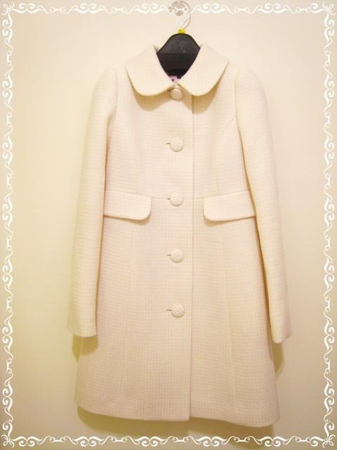 週年慶之唯一戰利品~prideglide白色大衣