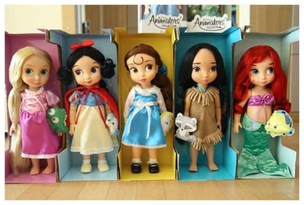 【我的情人節禮物】卡哇依のQ版迪士尼公主娃娃