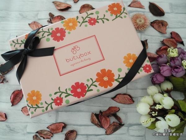 2018年5月butybox美妝體驗盒,溫馨五月,送給當媽咪的自己從頭到腳的保養與呵護!