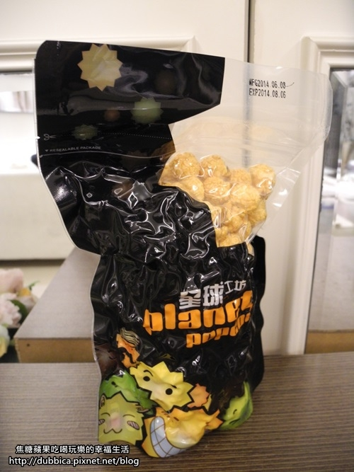 [試吃]超夯團購~星球工坊-三杯雞爆米花!!