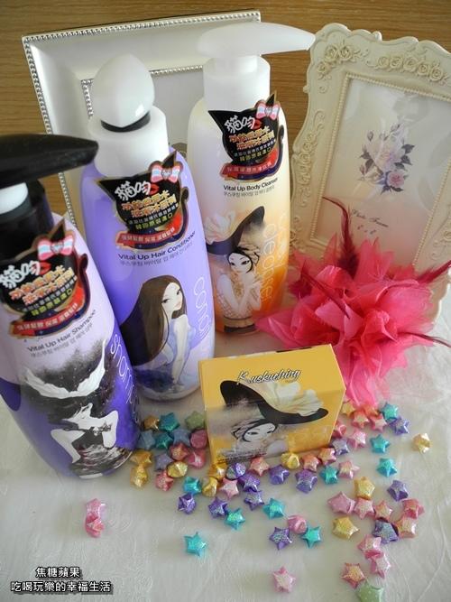 [體驗。保養】讓人忍不住想靠近的甜蜜香氛!!Kuskuching韓國愛敬貓吻系列-洗髮精&潤髮乳&沐浴乳&洗顏皂