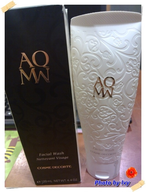 我的2012年iswii聖誕驚喜福袋分享試用~AQMW洗顏乳