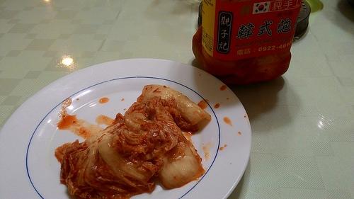 觀子記韓式泡菜~辣得夠味。好下飯