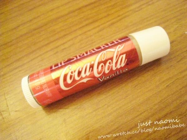 [美妝]口味促咪的可口可樂護唇膏