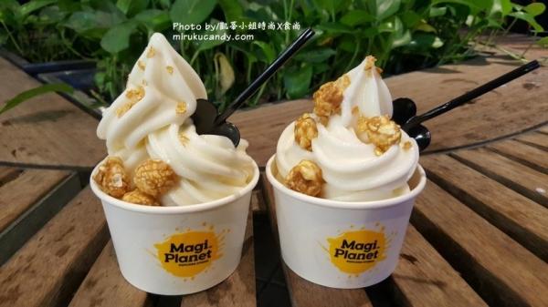 台北信義ATT  Magi Planet星球工坊||金釀啤酒優格爆米花霜淇淋,搭上奢華太妃焦糖爆米花、辦公室點心