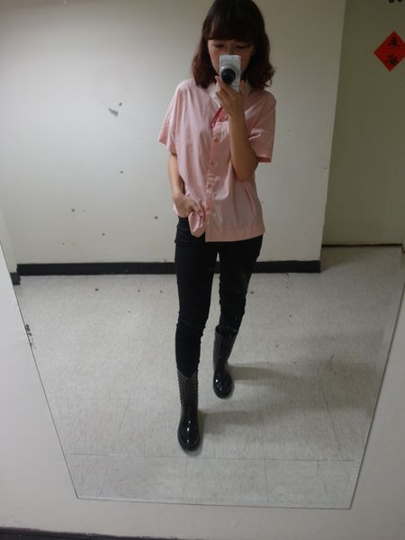 [穿搭] funsgirl芳子時尚MIT雙料立體褲♥馬鞍臀被吃掉啦
