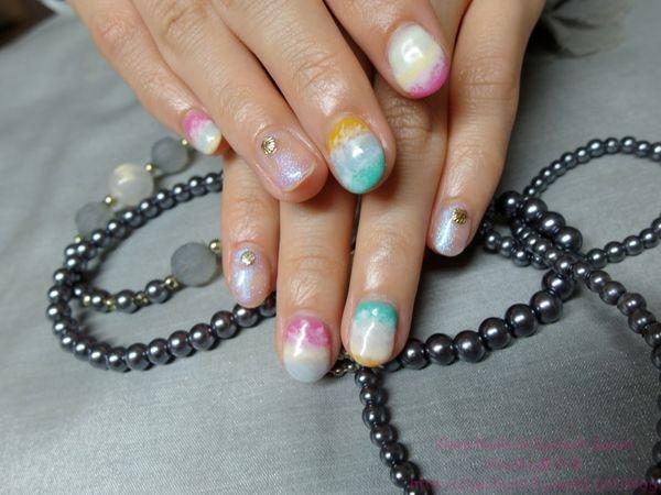 [東區/忠孝復興/美甲美睫] 東區美甲美睫Klara Nails & Eyelash Salon ♥ 量身訂做的美睫;看著指甲想起夏日的白浪