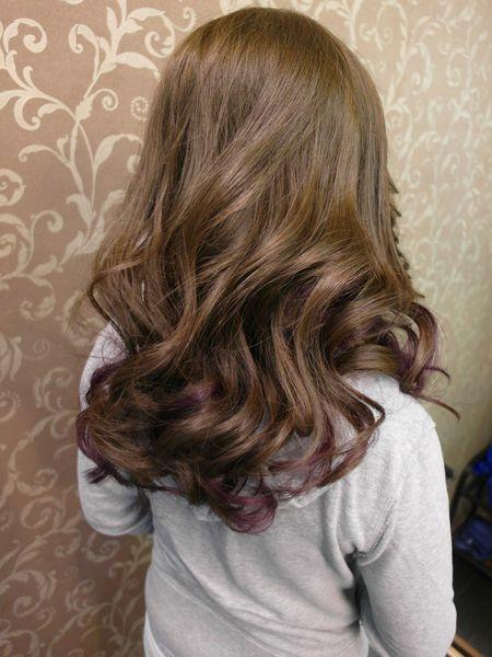 [染髮|美髮] 中永和剪髮-JF美髮沙龍♥平價染髮/燙髮,亮眼亞麻綠mixed挑染神秘紫!