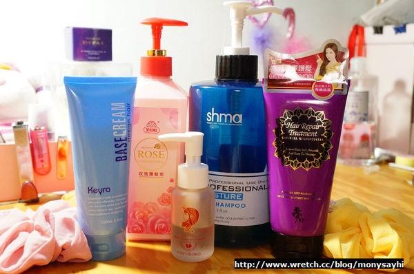 髮品。我的愛將髮品保住我的美麗紫頭髮♫