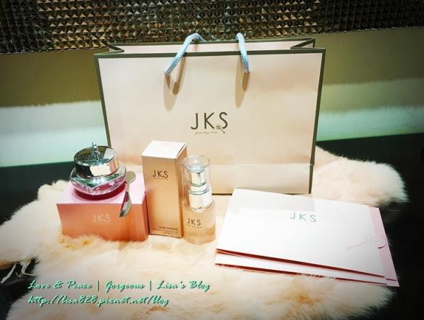 ▎保養 ▎粉紅夢幻含有蜂萃成分的JKS GABA肌膚撫紋神器-緊緻亮眼精萃+精華油~消除眼周細紋!