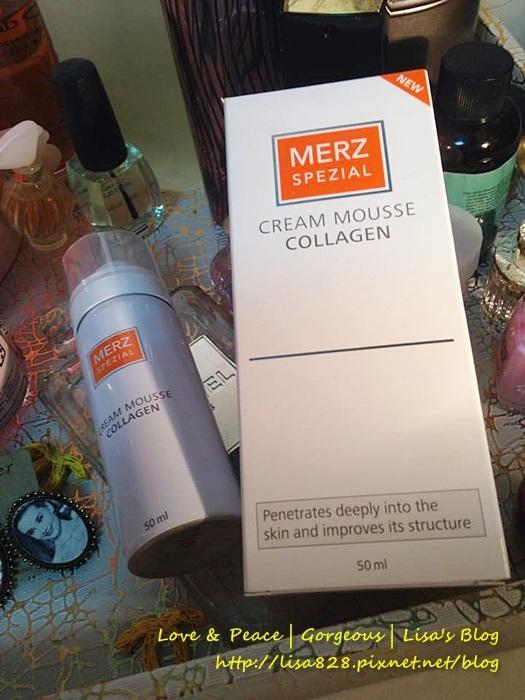 ▎保養 ▎沒想到保養品也能是慕斯狀!有修護能力的Merz Spezial-歐雅茉 晶亮瓷膠原蛋白慕斯!
