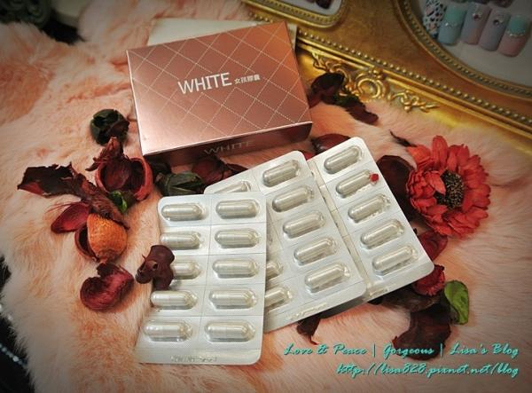 ▎保養 ▎我每天睡前都在吃的有樂科技-WHITE女孩膠囊~維持皮膚透亮的小心機!