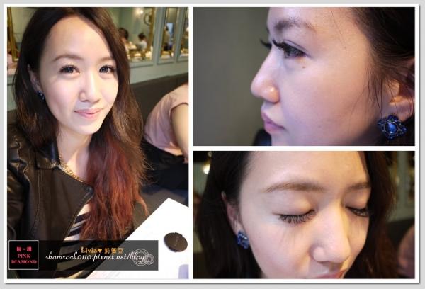 【Livia♥美妝】素顏也美能美美的♥嫁接睫毛還有24小時的!!