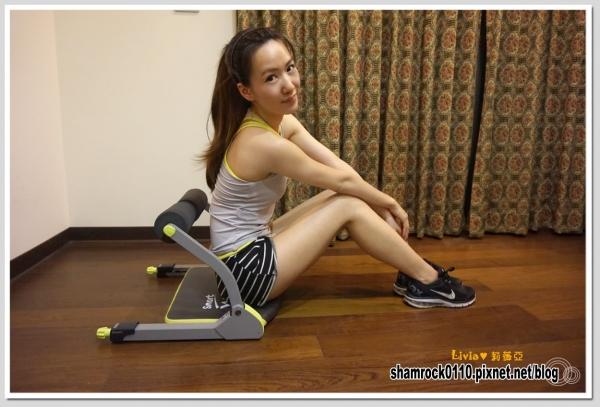 【Livia♥瘦身日誌】馬甲線養成2♥追求線條之路健身器輔助