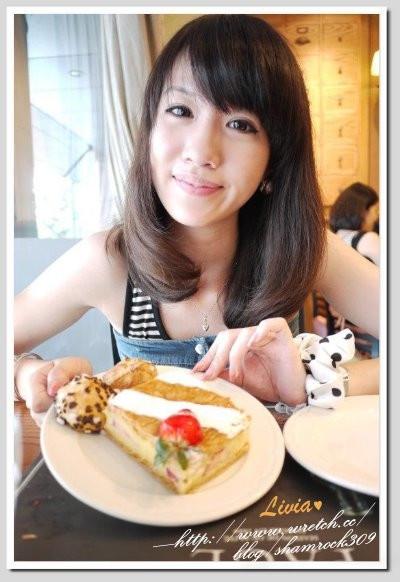 【Livia♥美食】台中PAUL♥法國輕食午茶甜點約會