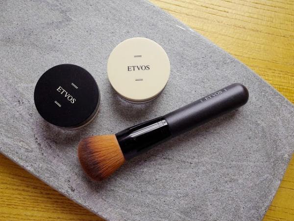 【美妝】ETVOS零卸妝的100%礦物粉底入門組合 柔霧無瑕防曬礦物粉底 SPF30 PA++/裸感入眠靜夜礦物蜜粉