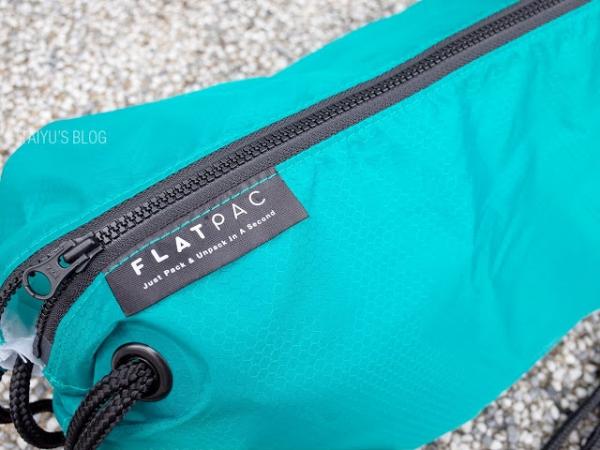 【生活】TRONNOVATE FLATPAC 輕巧包背起來讓你身手矯健的大容量輕便包