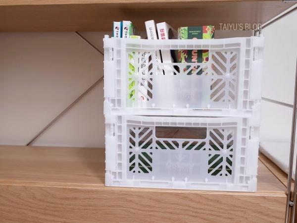 【居家】Ay Kasa 折疊收納箱徒手組裝超便利!僅$10硬幣厚度的20多色收納箱