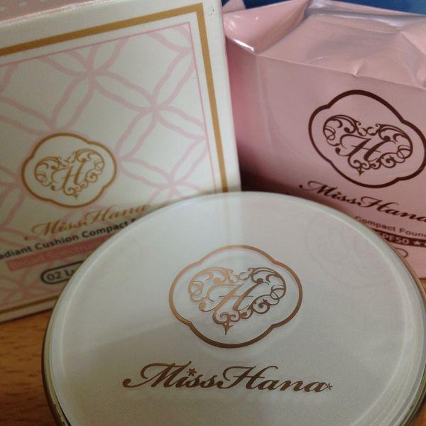✬Miss Hana 花娜小姐✬  光透無瑕氣墊粉餅SPF50+ ★★★ 國民氣墊粉餅